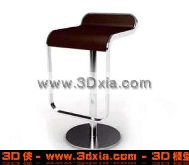 吧台椅模型_吧台椅模型solidworks生活用品类模型下载