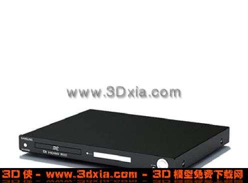 最新款流行DVD机3D模型