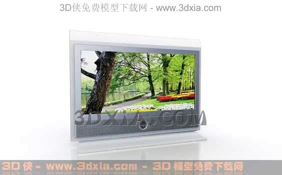 电视机-版本3dmax8-233d模型【id:31713】