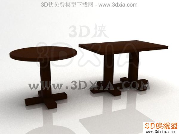 餐桌-3dmax2008-15