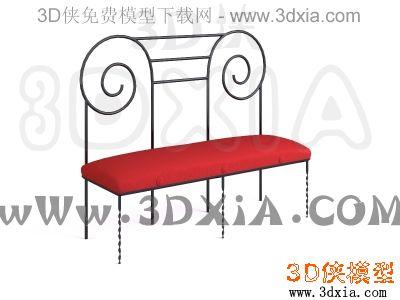 其它椅子-3dmax9-sawaya&moroni suspiral