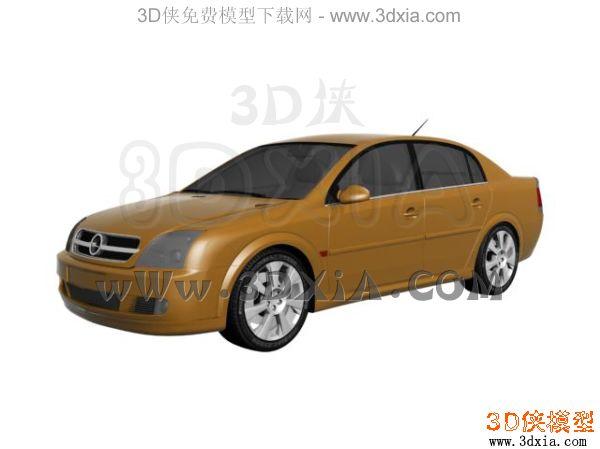 汽车-3dmax8-opel vectra 2002
