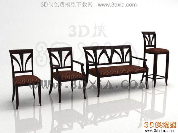椅子-3dmax2008-2