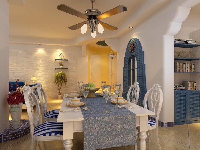 地中海餐厅效果图