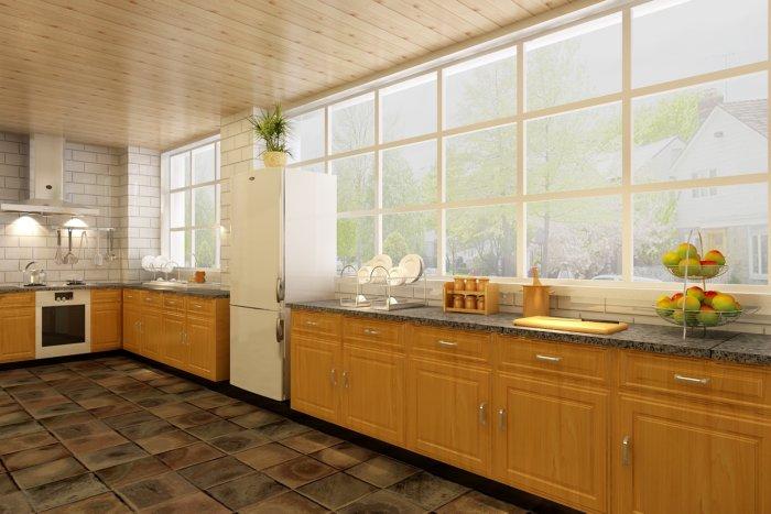 别墅厨房效果图