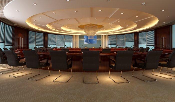 会议室吊顶设计效果图