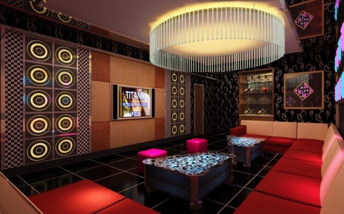 传统中式酒店客房效果图素材  免费下载,本作品主题是ktv包厢装修