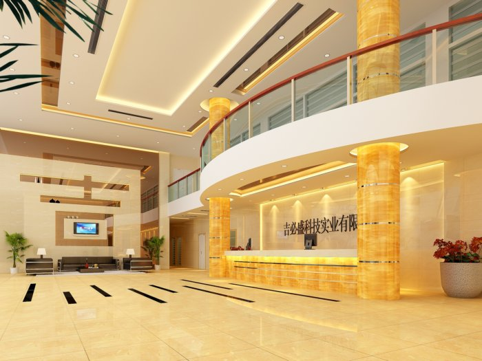 公司大厅设计效果图
