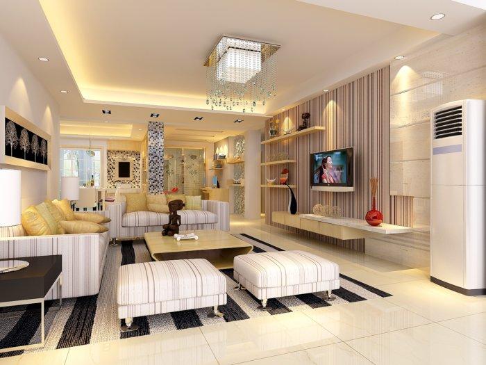 家装客厅装饰设计效果图
