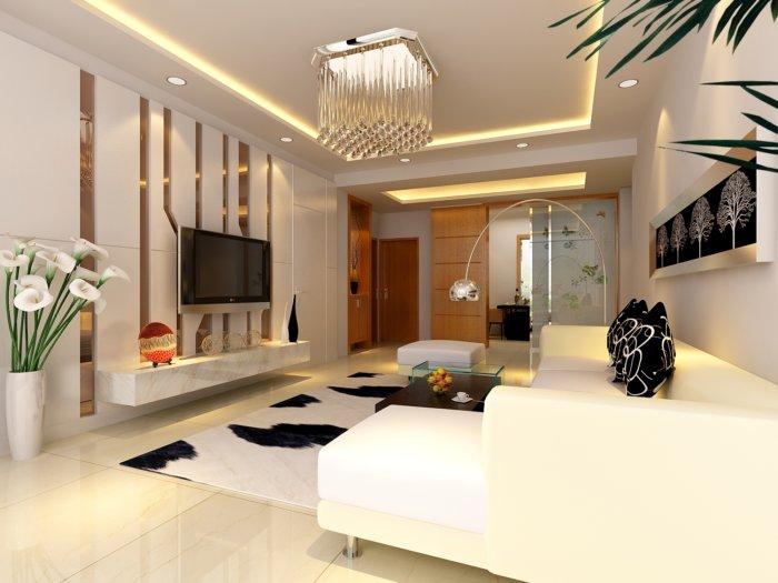 客厅水晶灯图片