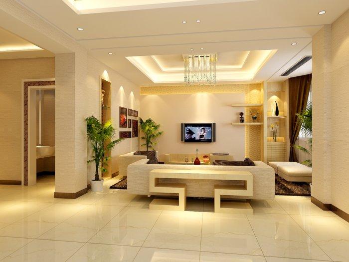 小客廳裝修設計效果圖渲染效果圖片
