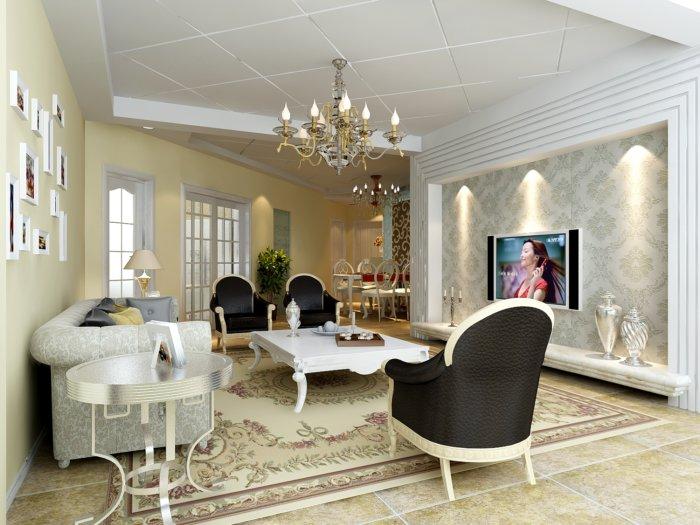 2013家装客厅装饰效果图