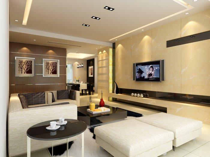 3d家居客厅装修设计效果图