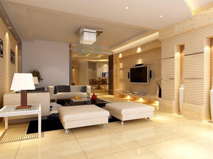 3d家装客厅效果图