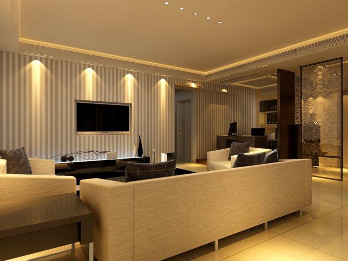 3d家装设计客厅效果图
