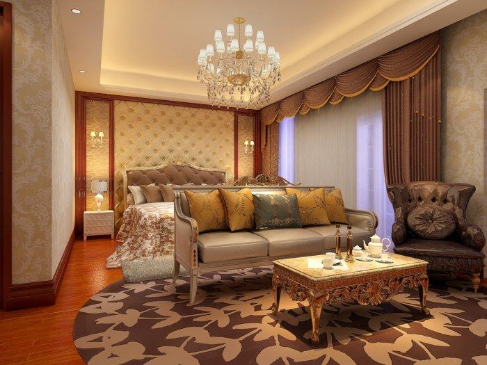 欧式卧室背景设计