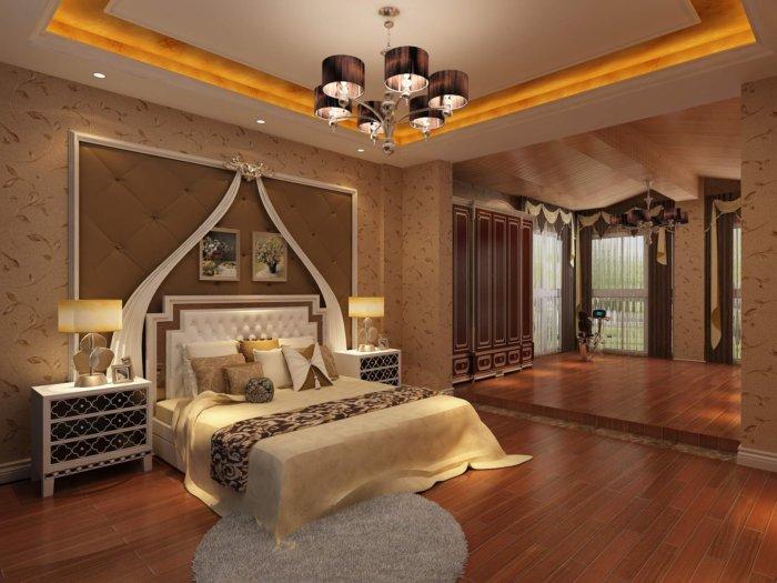 卧室背景墙设计效果图