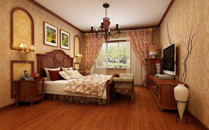 主卧室装修效果图渲染效果图片
